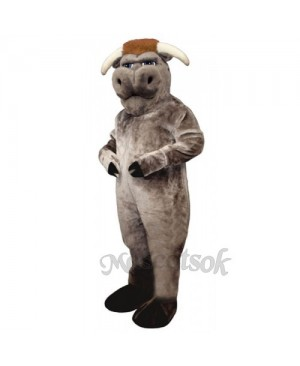 Cute Bully Bull Mascot Costume