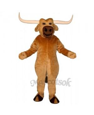 Cute Texas Longhorn Mascot Costume