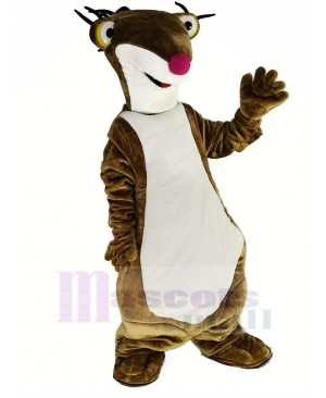 Brown Ground Sloth Sid for Ice Age Mascot Costume Animal
