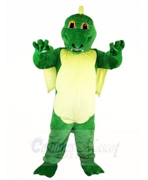 Green Dinosaur Magic Dragon Mascot Costumes Animal