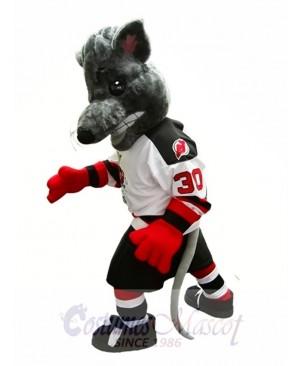 Albany River Rats Mascot Costume Ice Hockey Team Mascot Costume