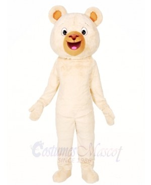 White Bear Mascot Costumes Animal