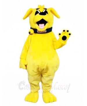 Yellow Dog Mascot Costumes Animal
