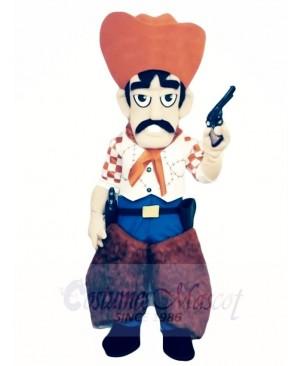 Western Cowboy Mascot Costumes People
