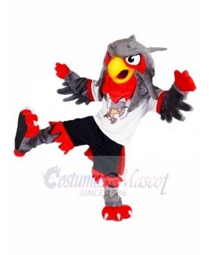 Black Pants Grey Eagle Owl Mascot Costumes Animal