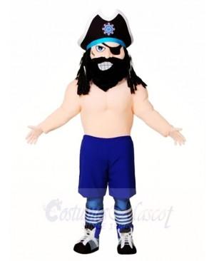 Blackbeard Pirate Mascot Costumes People