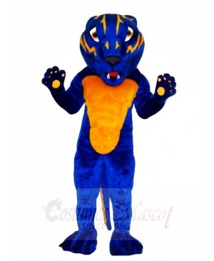 Blue Bearcat Mascot Costumes Animal