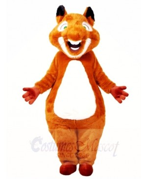 Brown Chubby Squirrel Mascot Costumes Animal
