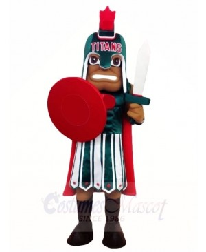Warrior Titans Mascot Costumes People