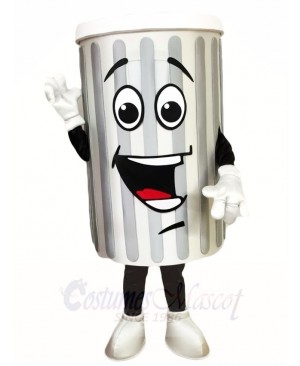 Garbage Trash Can Ash Bin Mascot Costumes