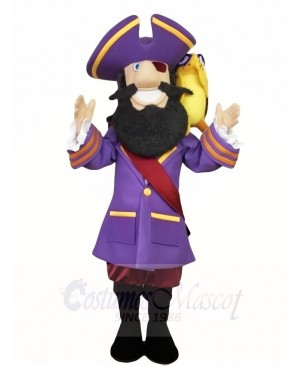 Pirate Captain Mascot Costumes People