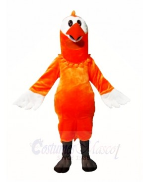 Orange Dodo Bird Mascot Costumes Animal