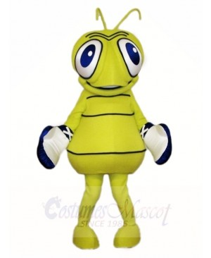 Green Flu Bug Mascot Costumes Insect