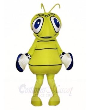 Green Flu Bug Mascot Costumes Insect