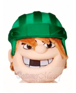 Hockey Player Head Only Mascot Costumes People