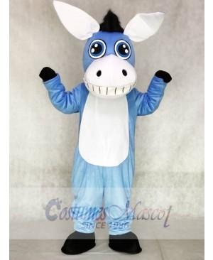 Blue Donkey Mascot Costumes Animal
