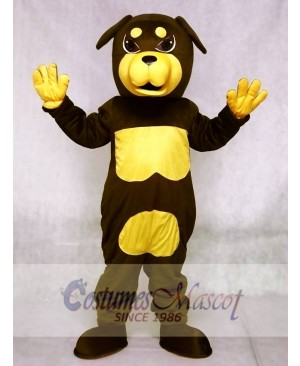 Cute Rottweiler Dog Mascot Costumes Animal