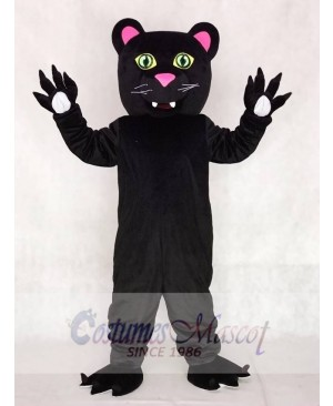 Friendly Black Panther Mascot Costumes Animal