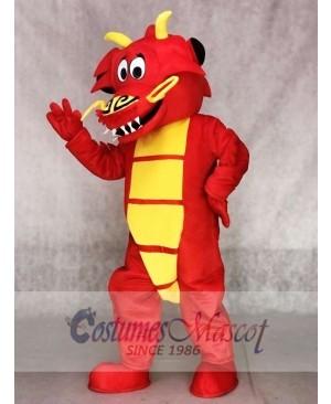 Red Legendary Dragon Mascot Costumes