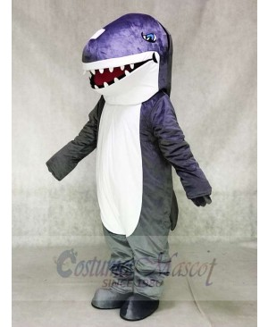 Grey Shark Mascot Costumes Animal