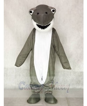 Gray Shark Mascot Costumes Sea