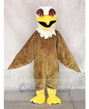 Fierce White Head Brown Hawk Falcon Eagle Mascot Costumes