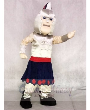 Silver Spartan Titan Trojan Mascot Costumes People