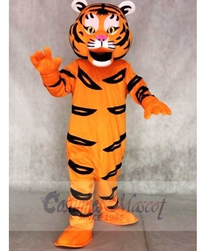 Cute Tiger Ted Mascot Costumes Animal