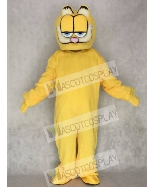 Super Cute & Funny Garfield Mascot Costume Cartoon