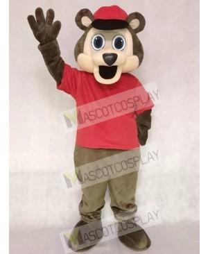 Minnesota Twin Cities T.C. Bear MLB Brown Bear with Hat Mascot Costume