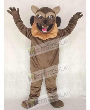 Cute Wolverine Wolf Mascot Costume