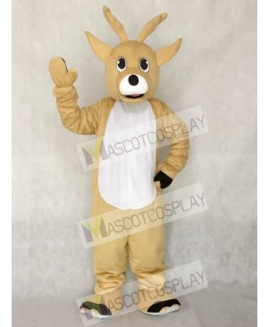 Cute Jolly Reindeer Deer Mascot Costume