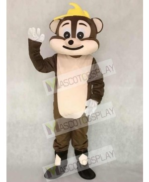 Brown Chipmunk Adult Mascot Costume Animal