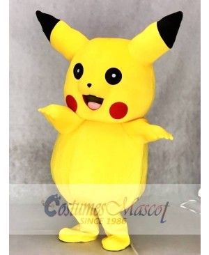 Ready to Ship Japanese Cartoon Pikachu Mascot Costumes Pokémon Pokemon Go Outfit