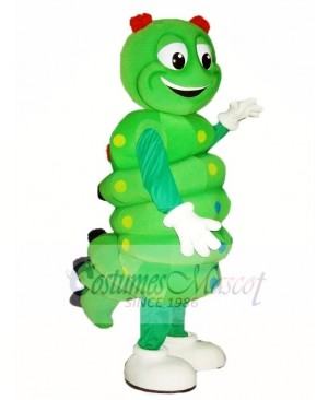 Green Caterpillar Mascot Costumes Insect