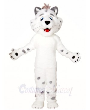 White Leopard Mascot Costumes Animal