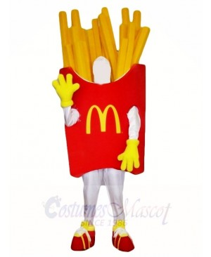 French Fries Fried Mascot Costumes Snacks