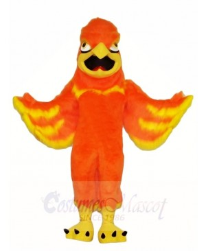 Orange Phoenix Mascot Costumes Fantasy