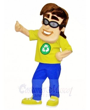 Recyle Man Mascot Costumes People