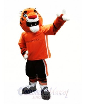 Orange Tiger Mascot Costumes