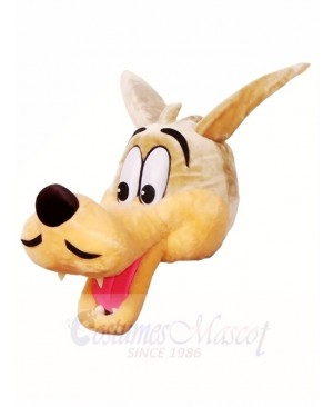 Brown Wolf HEAD ONLY Mascot Costumes Animal