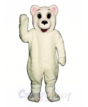 New Winter Bear Mascot Costume