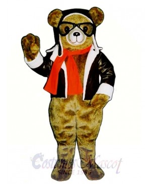 New Red Bearon Bear Mascot Costume