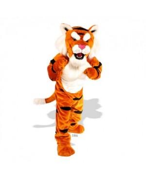 Cute Power Tiger Mascot Costume