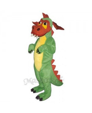 Rufus Dragon Mascot Costume