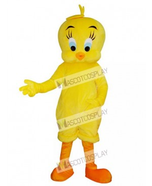 Tweety Looney Tunes Yellow Bird Mascot Costume
