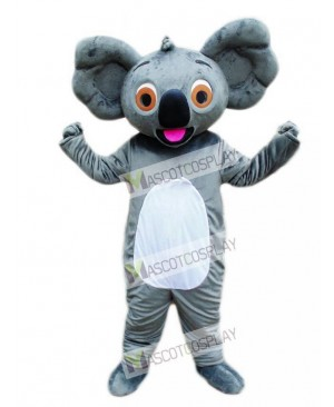 Koala with Red Tongue Mascot Costume