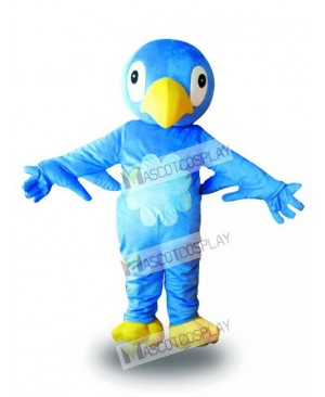 Blue Bird Mascot Costume