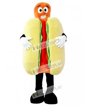 High Quality Adult Hot Dog Mascot Costume