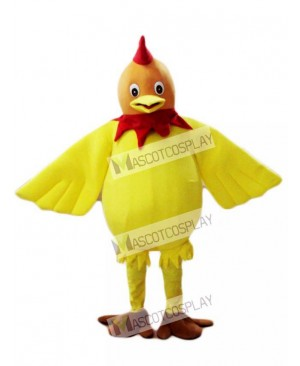 Cock Rooster Chanticleer Mascot Costume